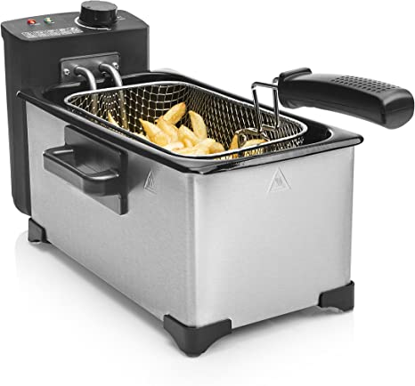 Tristar FR-6945 Deep Fryer – Freidora, capacidad de 3 litros, potencia de 2000 W: Amazon.es: Hogar