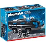 Playmobil 5564 City Action Police Tactical Command Vehicles with Lights and Sound
