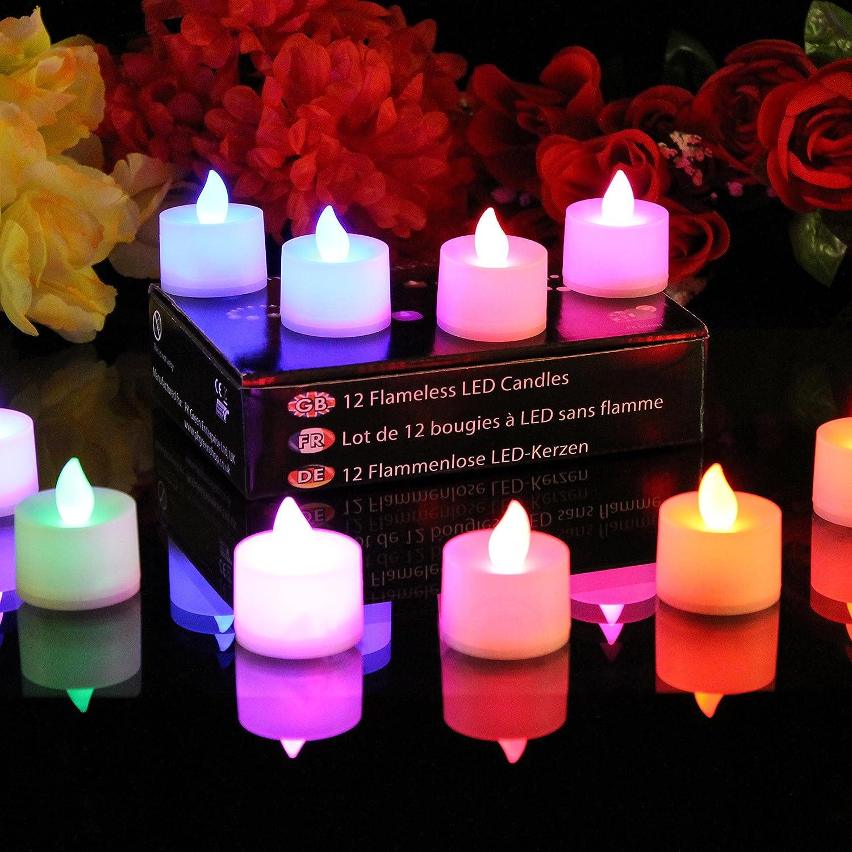 91CEwSpsLhL._SL1500_ Schöne Kerze Leuchtet In Verschiedenen Farben Dekorationen