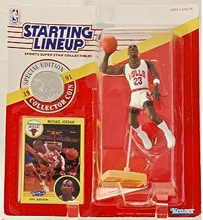 MIchael Jordan 1991 Starting Lineup (jumping)