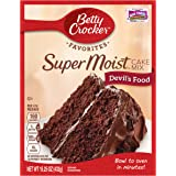 Betty Crocker Super Moist Cake Mix Devil's Food 15.25 oz Box