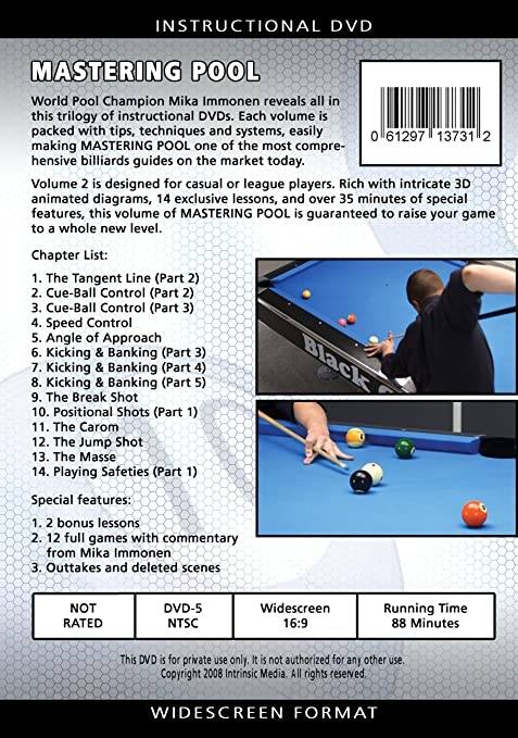 mika immonen mastering pool dvd download