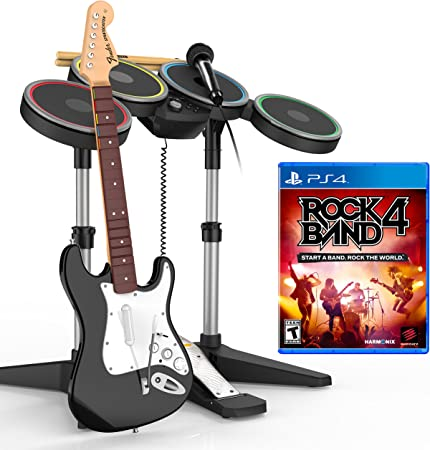 Rock Band 4 Band-in-a-Box Bundle     - Amazon com