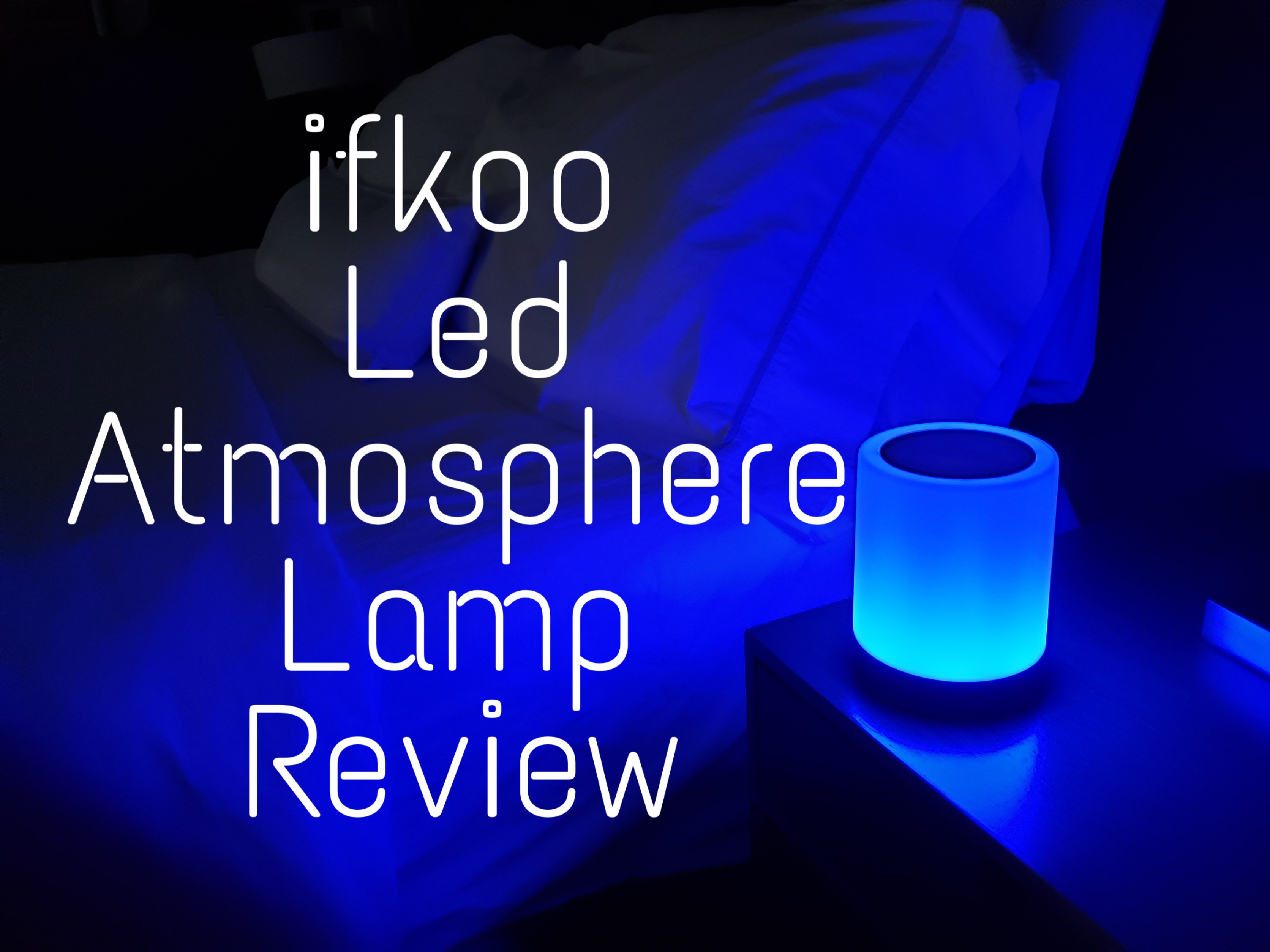 Touch Sensor Bedside Lamp for Bedroom iFkoo Rechargeable Night Light with Hook