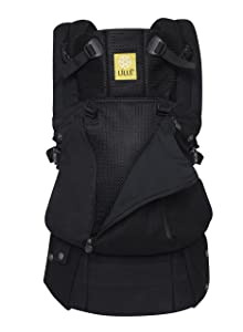 LÍLLÉbaby Complete All Seasons SIX-Position 360° Ergonomic Baby & Child Carrier, Black