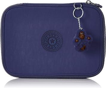 Kipling 100 Pens Estuche Grande, Azul (Polish Blue C): Amazon.es: Equipaje