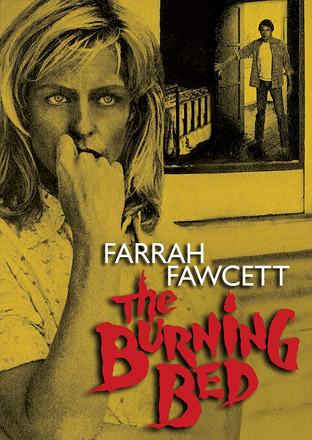 The Burning Bed Farrah Fawcett Paul Le Mat Richard Masur Grace Zabriskie