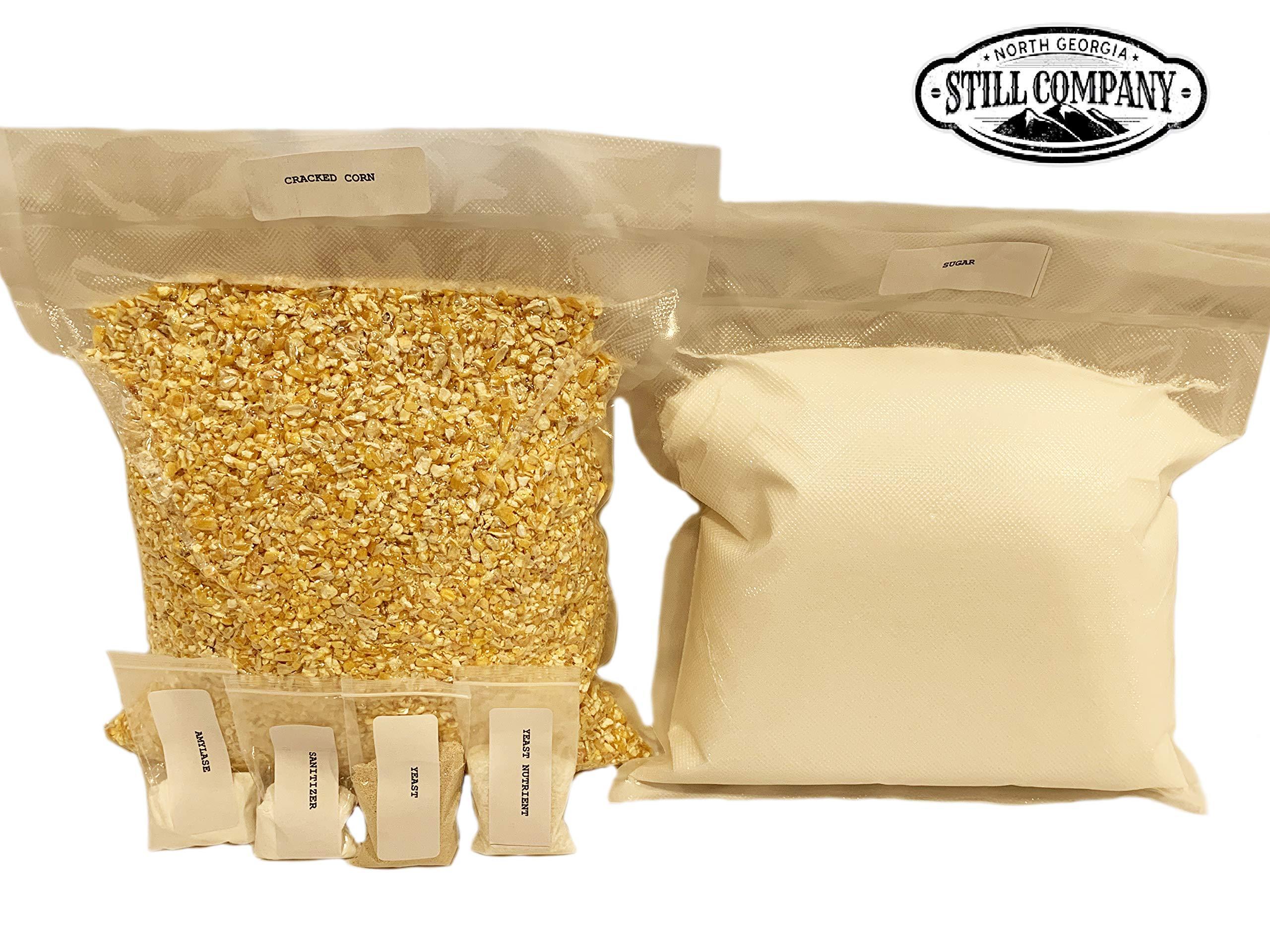 Genuine North Georgia Still Company Complete Corn Whiskey Mash & Fermentation Kit