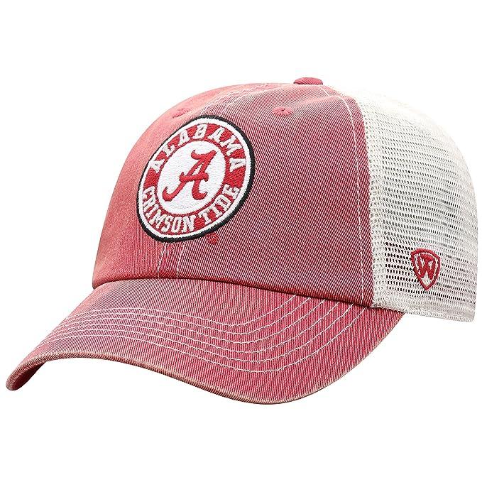 wholesale dealer d04ad 3b316 Top of the World Alabama Crimson Tide Men s Vintage Hat Icon, Crimson,  Adjustable