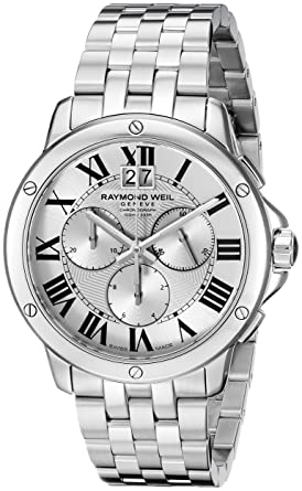 Amazon Com Raymond Weil Men S 4891 St 00650 Analog Display Swiss