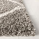 Safavieh Hudson Shag Collection SGH281B Grey and