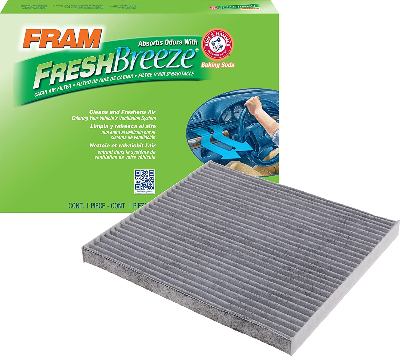 FRAM CF11819 Fresh Breeze Cabin Air Filter with Arm & Hammer