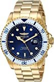 Invicta Men's 'Pro Diver' Quartz and Stainless Steel Diving Watch, Color:Gold-Toned (Model: 23382)