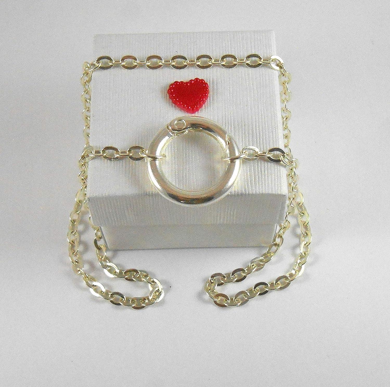 Amazon.com: Small NO Closure Locking Day Collar O Ring ...