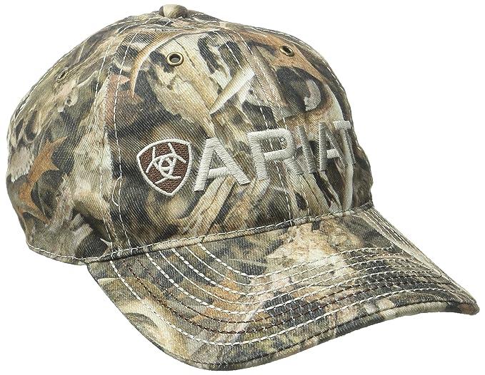 7f56aa4b74f ARIAT Men s Solid Bonz Camo Hat