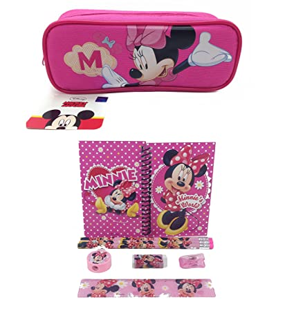 Amazon.com: Disney Minnie Mouse Combo Papelería Set + ...