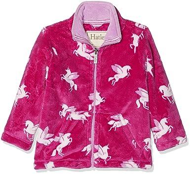 afea20d62 Hatley Girls' Little' Fuzzy Fleece Jackets, Winged Unicorns, ...