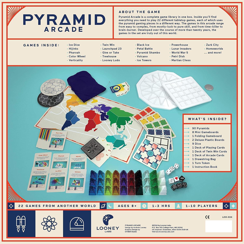 Pyramid Arcade Board Game Looney Laboratories Inc 047-CLOO