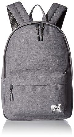 3975ca4bae Herschel Classic Backpack Mid Grey Crosshatch One Size
