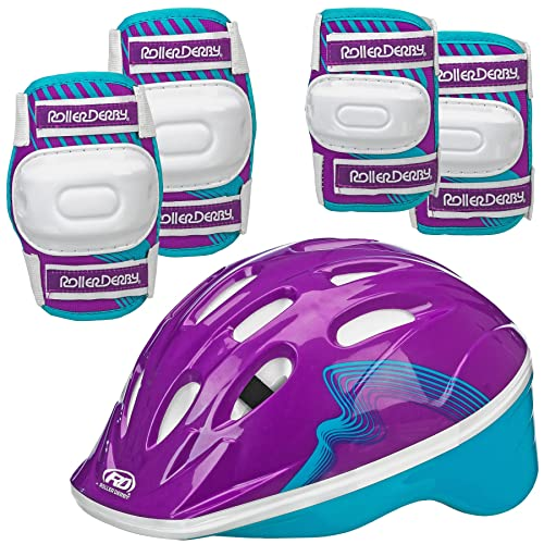 Roller Derby Carver Girls Inline Protective Skate Pack Small 12-2