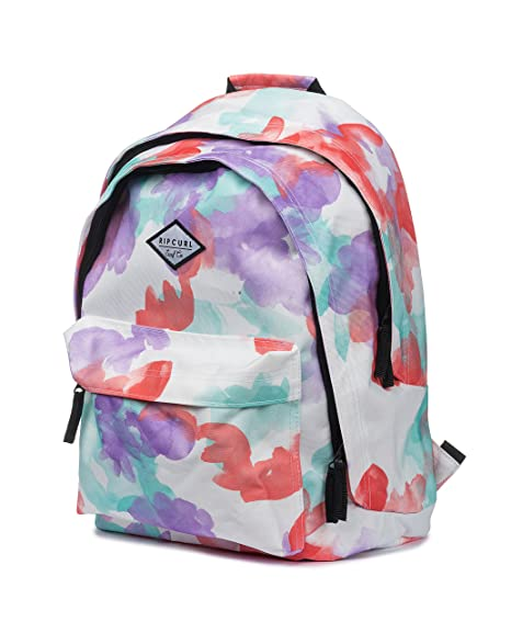 RIP CURL Double Dome WATERCAMO School Backpack White LBPGO1-1000
