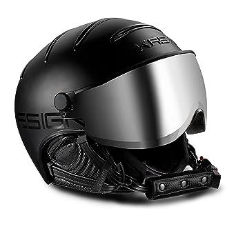 Kask Class – Casco de esquí con visera – Unisex – Black, color - negro