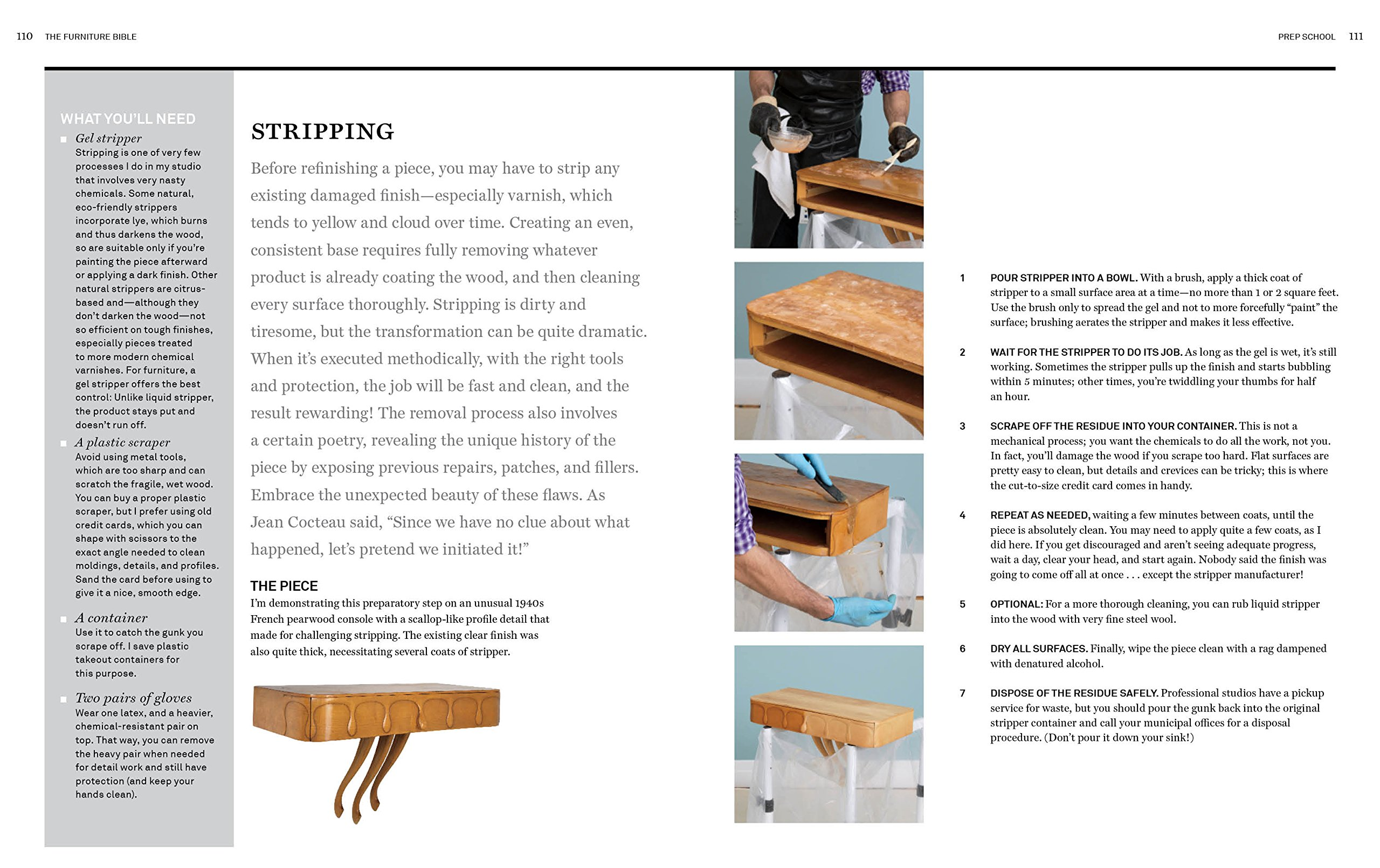 The Furniture Bible: Everything You Need to Know to Identify, Restore & Care for Furniture by Workman Publishing (Image #5)
