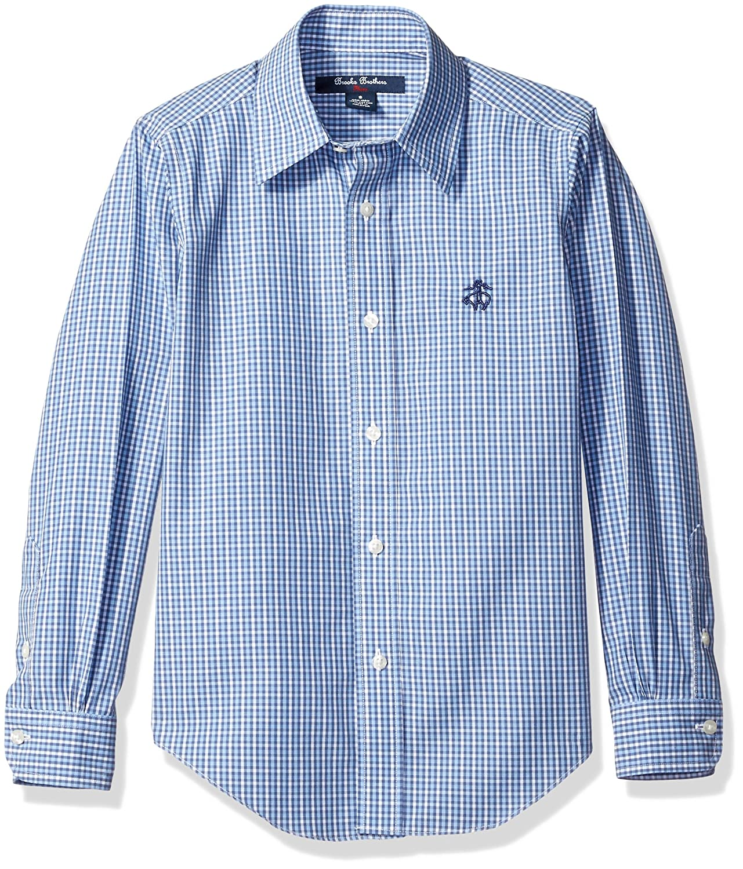 Amazon Brooks Brothers Boys Non Iron Mini Check Sport Shirt