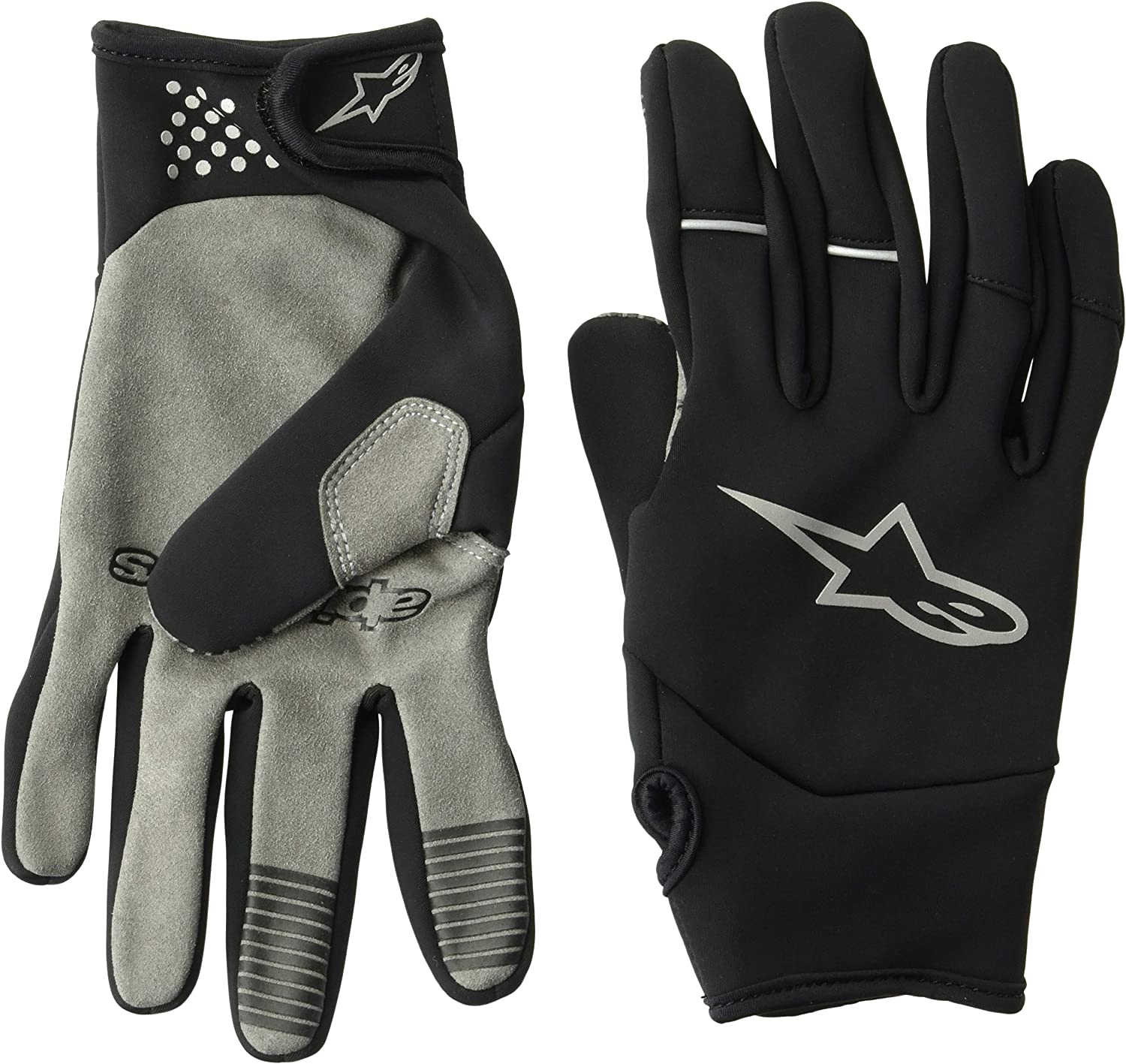 Black Alpinestars Aspen WR Pro Cycling Gloves