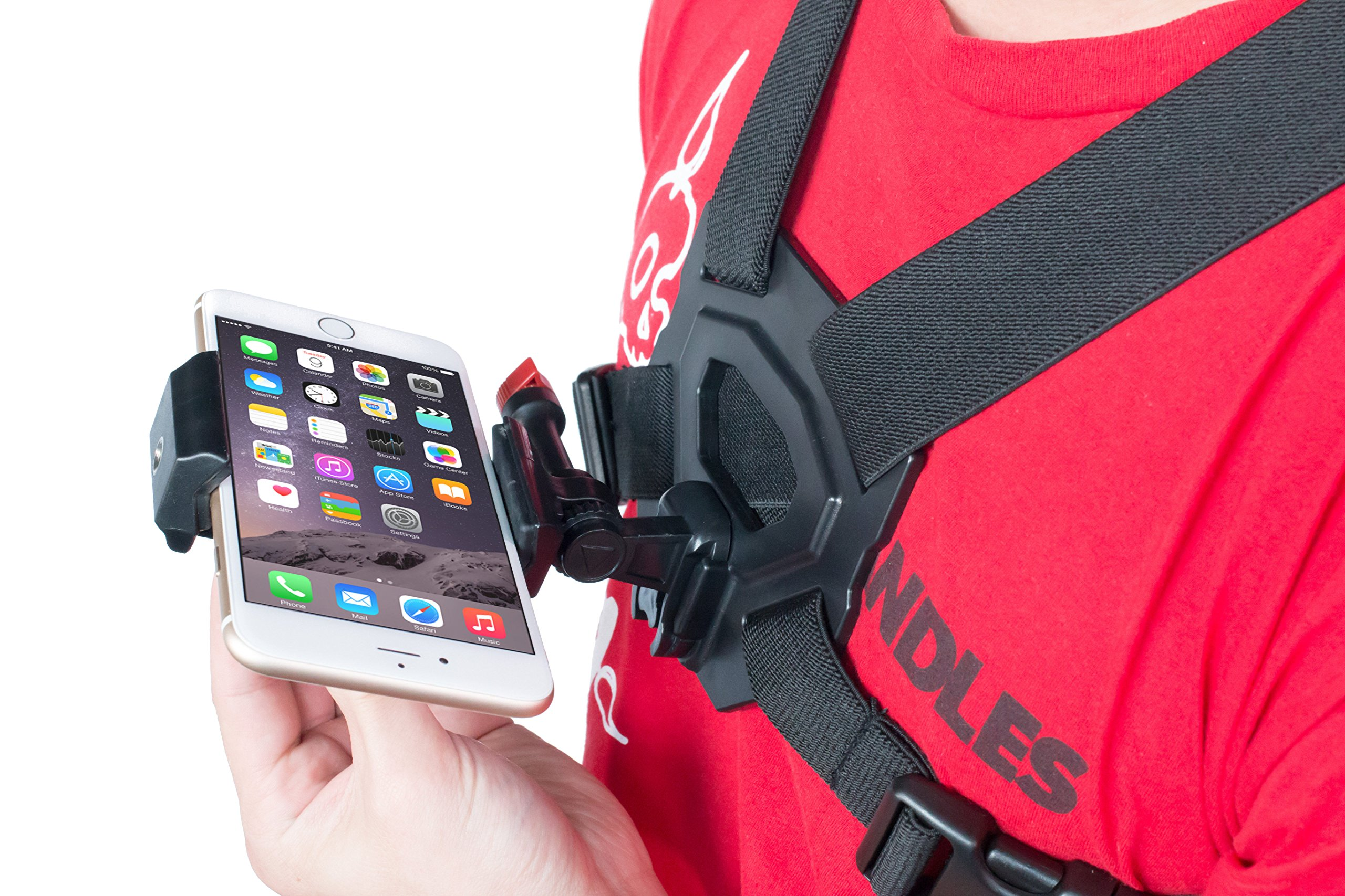 Bike Camera Video Chest Mount for All iPhone and Samsung Models POV Action Harness