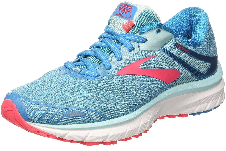 bluee Mint Pink Brooks Women's Ghost 11 Running shoes