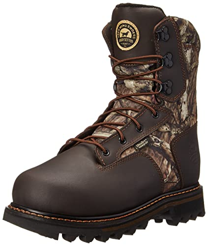 "Irish Setter Mens 2813 Gunflint II 10"" Hunting Boot,Mossy Oak Break Up Infinity"