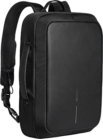 Amazon Com Xd Design Bobby Bizz Anti Theft Laptop Backpack Briefcase Usb Black Unisex Clothing