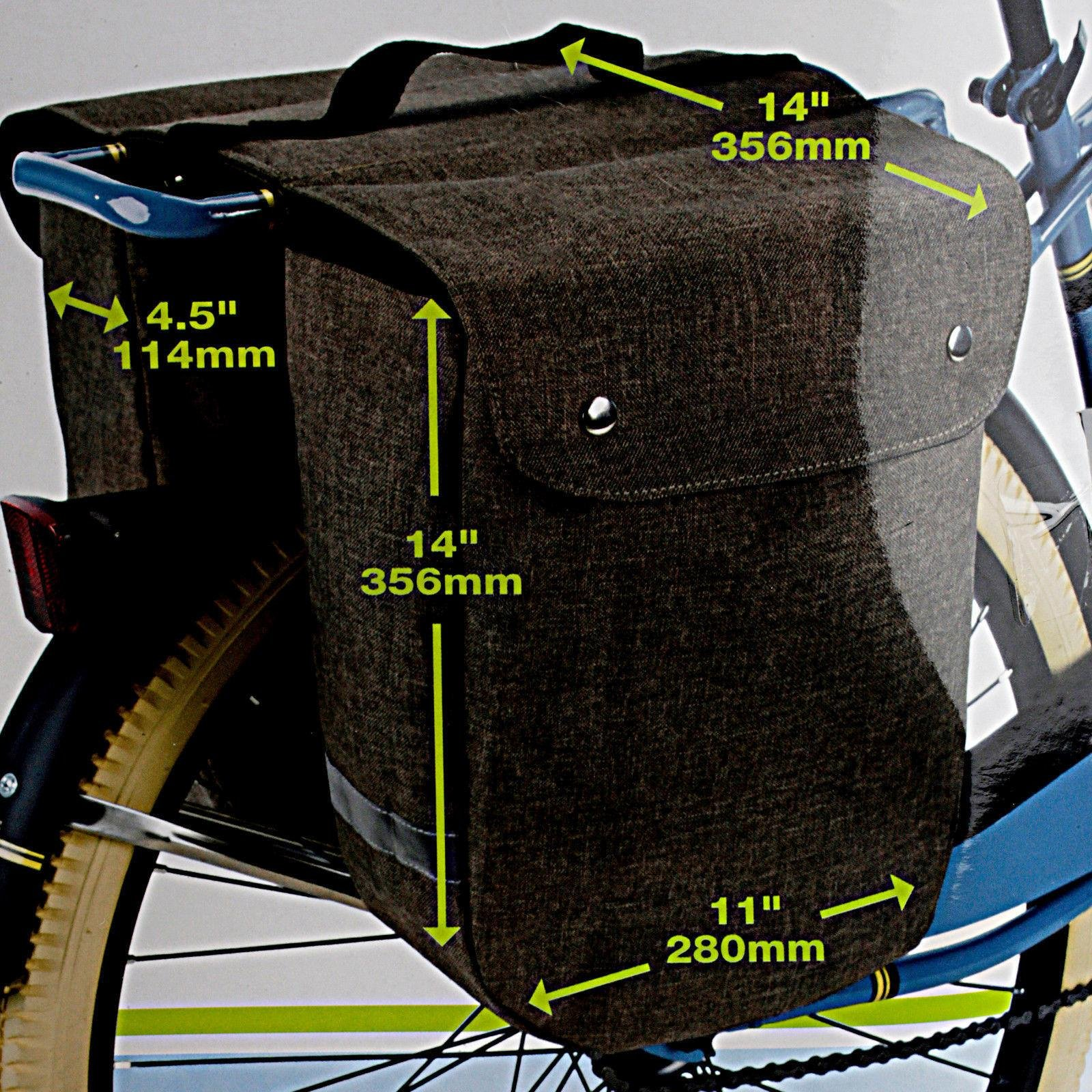 Huffy Cruiser Rollup Rear Pannier Bag Black by HUFY (Image #2)
