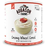 Augason Farms Creamy Wheat Cereal #10 Can, 65 oz