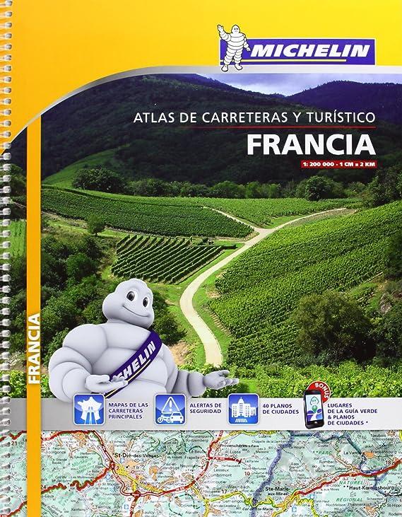Atlas Francia (A4) (Atlas de carreteras Michelin): Vv.Aa, Vv.Aa: Amazon.es: Belleza