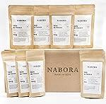 Nabora Mole de Oaxaca Vegano en Polvo Con Tableta de Chocolate Orgánico 100% Amargo, (Pack de 40 de 60 g)