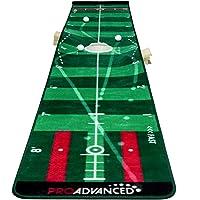 ProAdvanced Pro Infinity Golf Putting Mat - Green