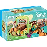 PLAYMOBIL® Spirit Riding Free Lucky & Spirit with Horse Stall Playset, Multicolor