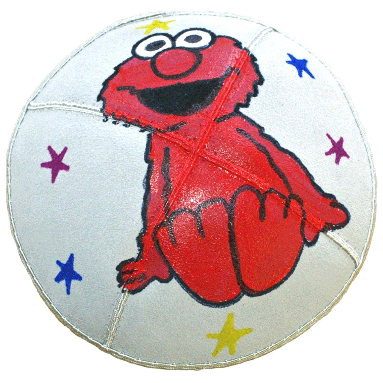 Hand-painted Kippah (Yarmulke) with Elmo
