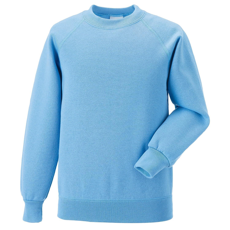 Jerzees Schoolgear Childrens Raglan Sleeve Sweatshirt Jerzees Schoolwear