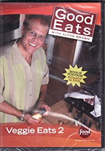 Food Network Takeout Collection DVD - Good Eats With Alton Brown - Veggie Eats 2 - Includes BONUS FOOTAGE Plus The Fungal Gourmet / Head Games / Squash Court