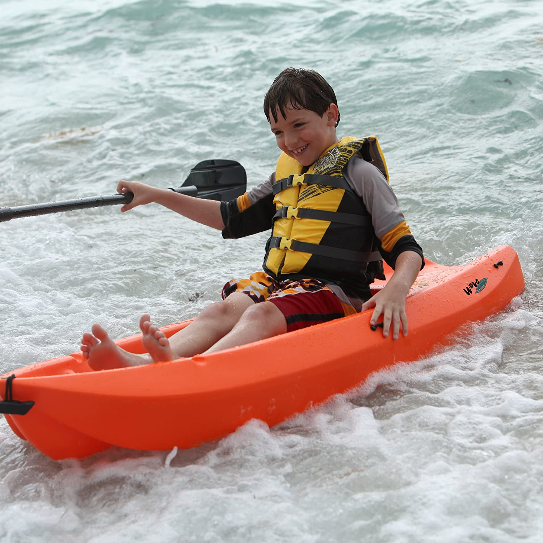 Lifetime 90479 Youth 6 Feet Wave Kayak with Paddle Orange