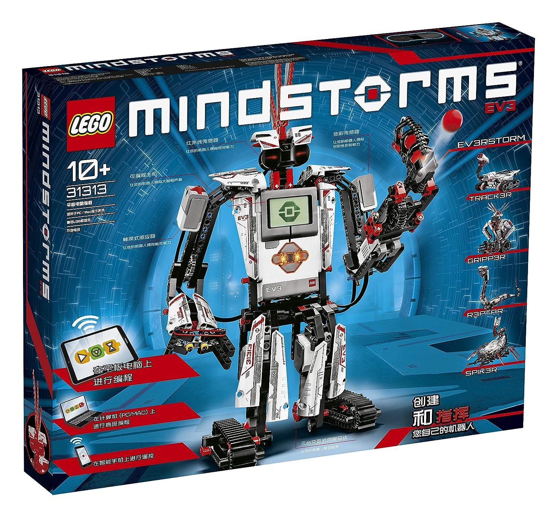 Lego 31313 Mindstorms Ev3 Robot Building Kit 5 In 1 Model Rc And