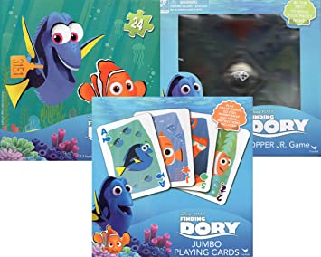 amazon finding dory game trio 3 games ボードゲーム おもちゃ