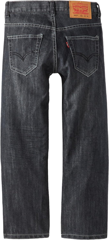 : Levi's Boys' 505 Regular Fit Jeans: Clothing