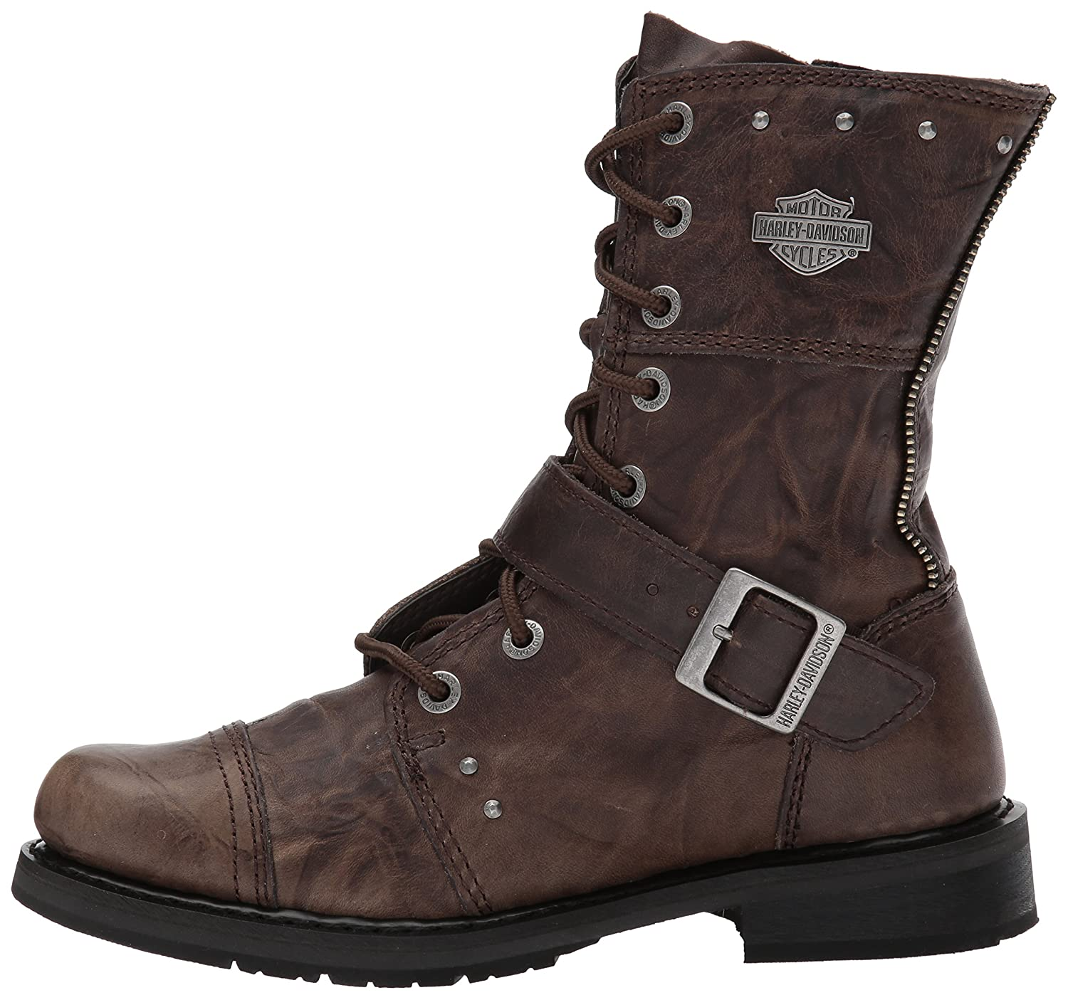 Harley-Davidson Women's 5.5 Monetta Riding Boot B01FG6A0RU 5.5 Women's B(M) US|Olive 4aa68f