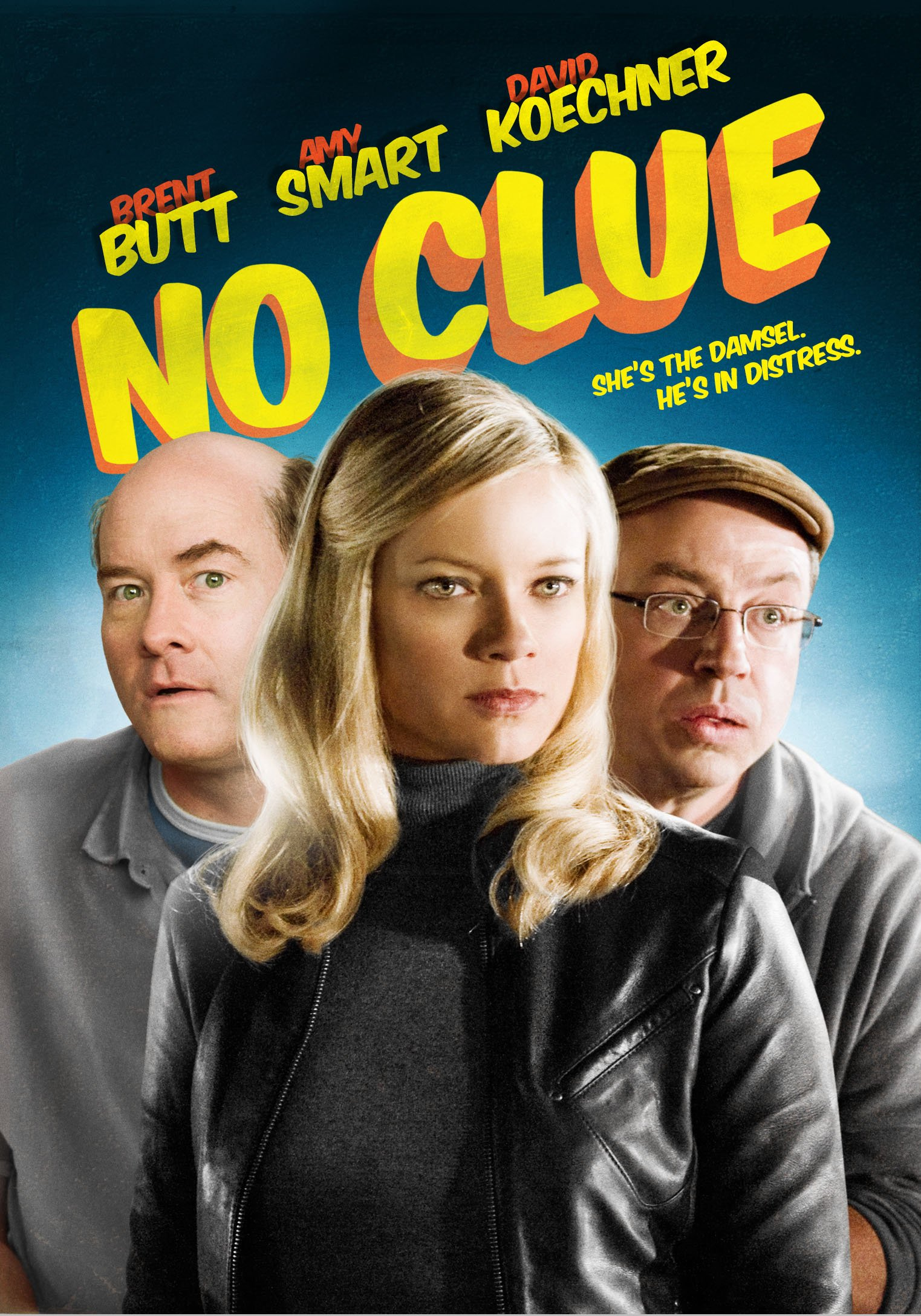 DVD : Amy Smart - No Clue (DVD)