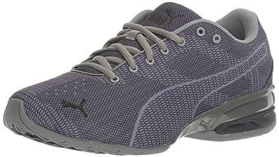 PUMA Men's Tazon 6 Wov Cross-Trainer Shoe, Quiet Shade Black, ...