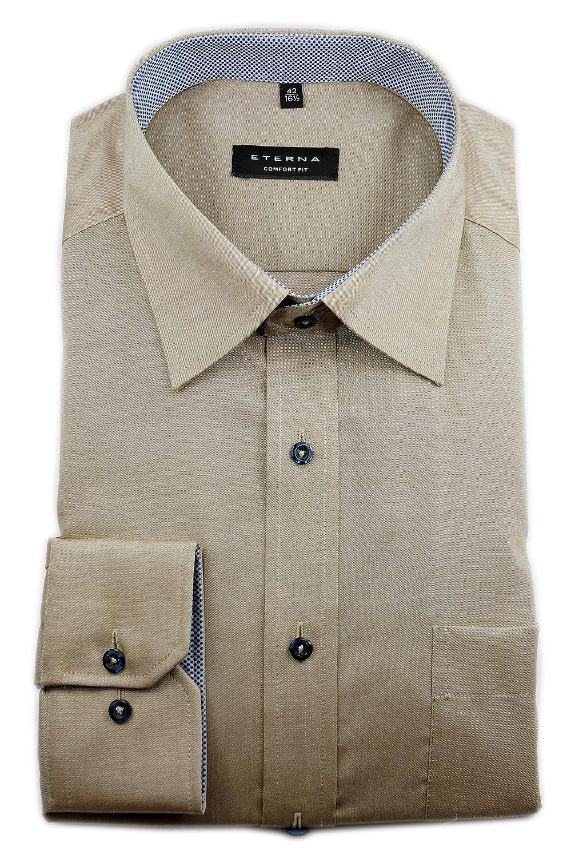 Eterna - Camisa Formal - Liso - Clásico - para Hombre